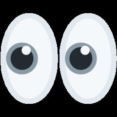 Eyes twitter emoji