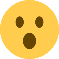 Face With Open Mouth twitter emoji