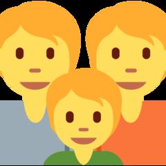 Family twitter emoji