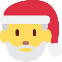 Father Christmas twitter emoji