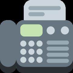 Fax Machine twitter emoji