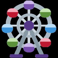 Ferris Wheel twitter emoji