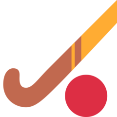 Field Hockey Stick And Ball twitter emoji