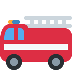 Fire Engine twitter emoji