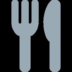Fork And Knife twitter emoji