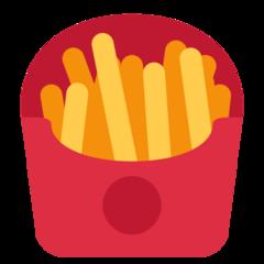 French Fries twitter emoji