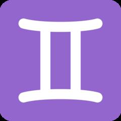 Gemini twitter emoji
