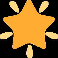 Glowing Star twitter emoji