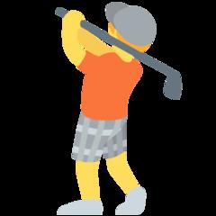 Golfer twitter emoji