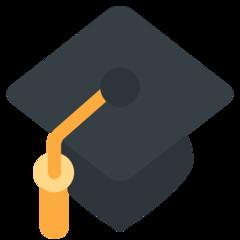 Graduation Cap twitter emoji