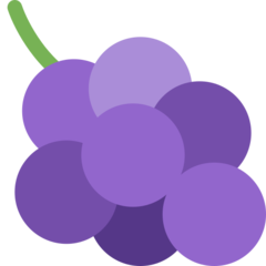 Grapes twitter emoji