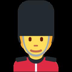 Guardsman twitter emoji