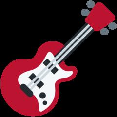 Guitar twitter emoji