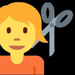 Haircut twitter emoji