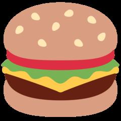 Hamburger twitter emoji