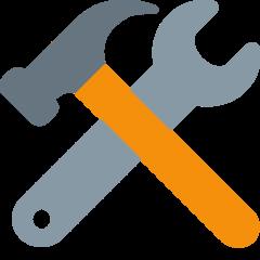 Hammer And Wrench twitter emoji