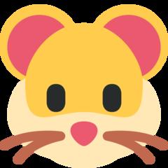 Hamster Face twitter emoji