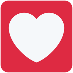 Heart Decoration twitter emoji