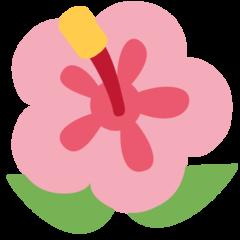 Hibiscus twitter emoji