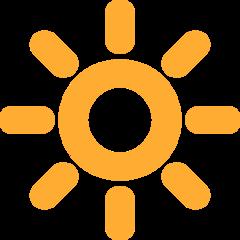 High Brightness Symbol twitter emoji