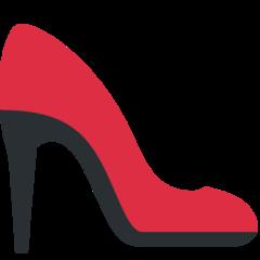 High-heeled Shoe twitter emoji