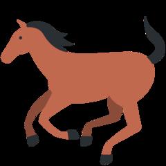 Horse twitter emoji