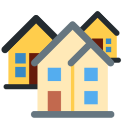 House Buildings twitter emoji