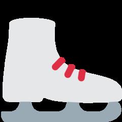 Ice Skate twitter emoji