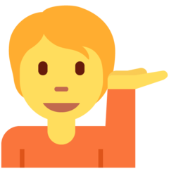Information Desk Person twitter emoji