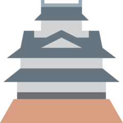 Japanese Castle twitter emoji