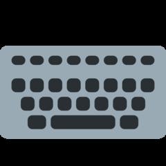 Keyboard twitter emoji