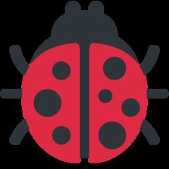 Lady Beetle twitter emoji