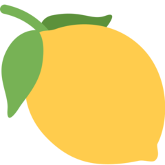Lemon twitter emoji
