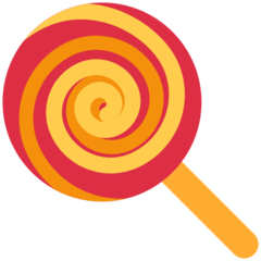 Lollipop twitter emoji
