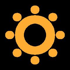Low Brightness Symbol twitter emoji
