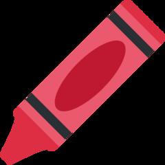 Lower Left Crayon twitter emoji