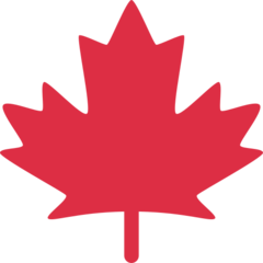 Maple Leaf twitter emoji