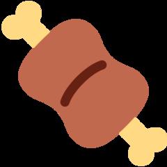 Meat On Bone twitter emoji