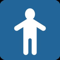 Mens Symbol twitter emoji