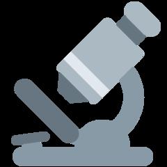 Microscope twitter emoji