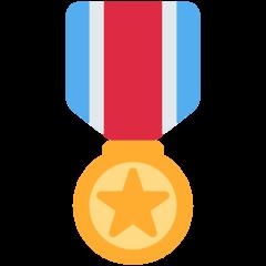 Military Medal twitter emoji