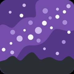 Milky Way twitter emoji