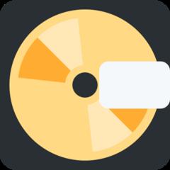 Minidisc twitter emoji
