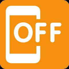 Mobile Phone Off twitter emoji