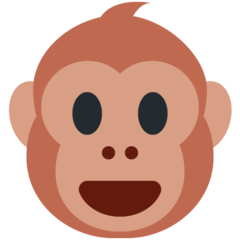 Monkey Face twitter emoji