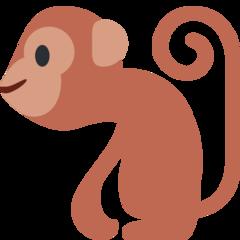 Monkey twitter emoji