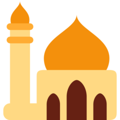 Mosque twitter emoji
