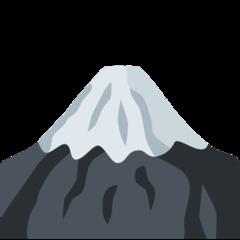 Mount Fuji twitter emoji