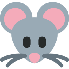 Mouse Face twitter emoji