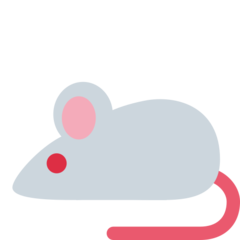 Mouse twitter emoji